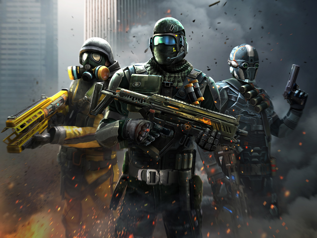 Modern Combat 5: ظلام الحرب