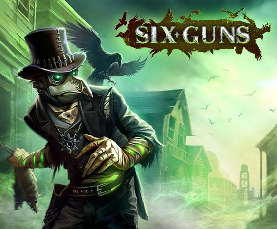 Six-Guns: Confronto de Gangues