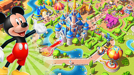 Build Your Own Disney World Game