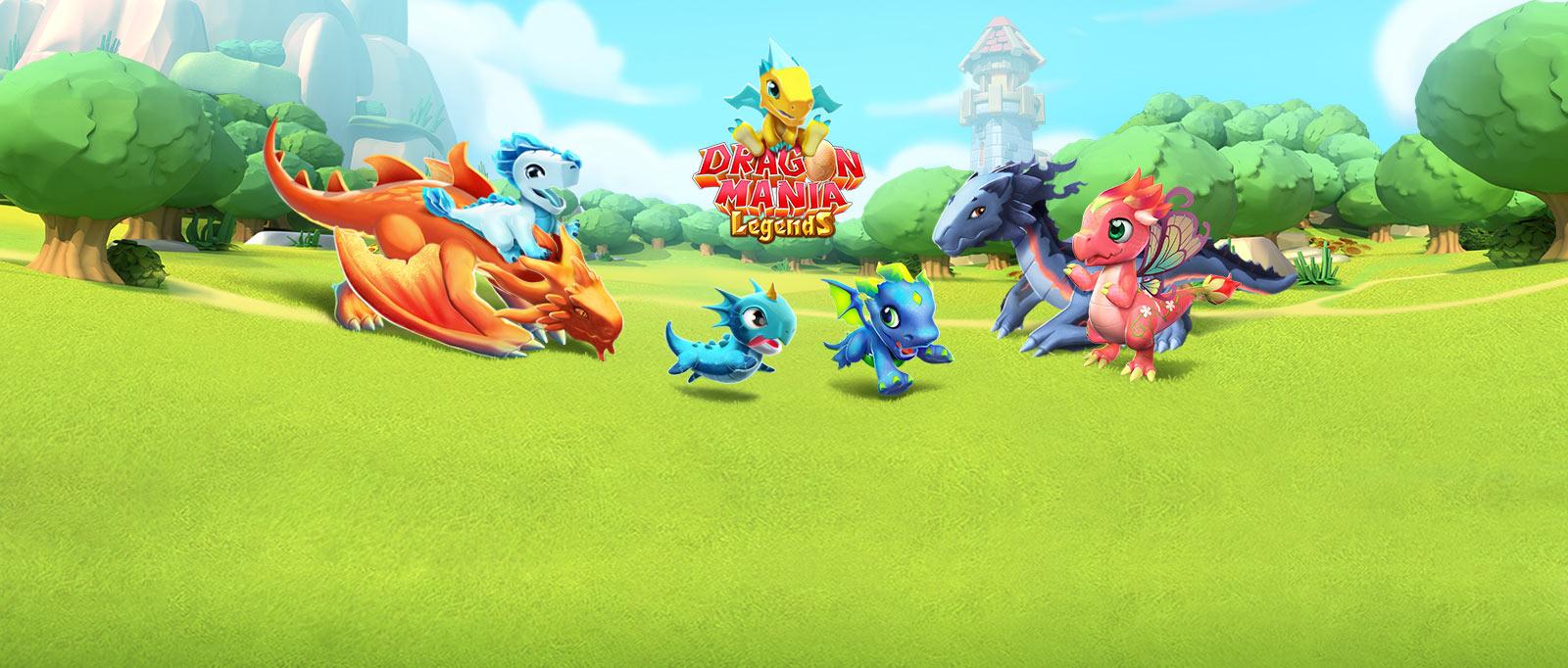 لعبة dragon mania legend مهكرة