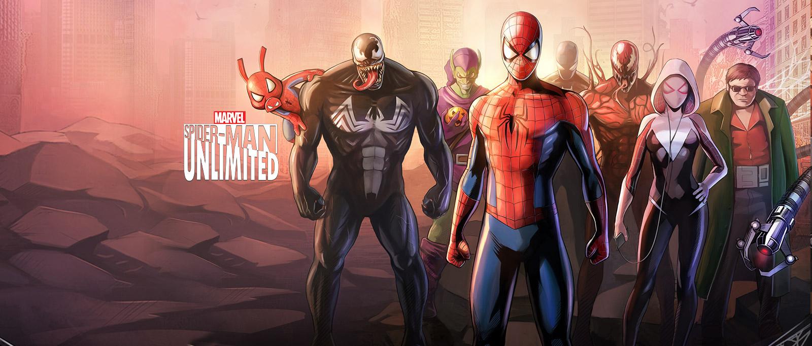 Gameloft Spider Man Unlimited