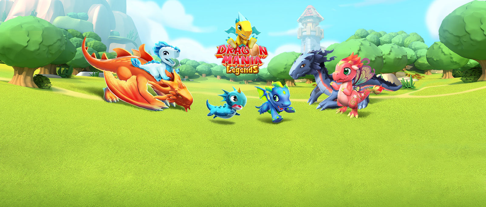 لعبة dragon mania legend مهكرة