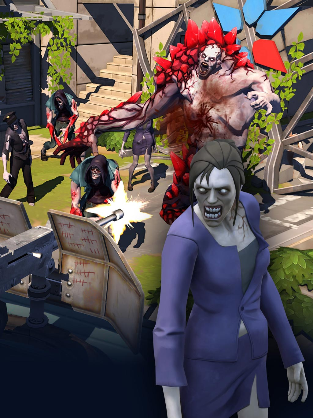 Зомби в городе