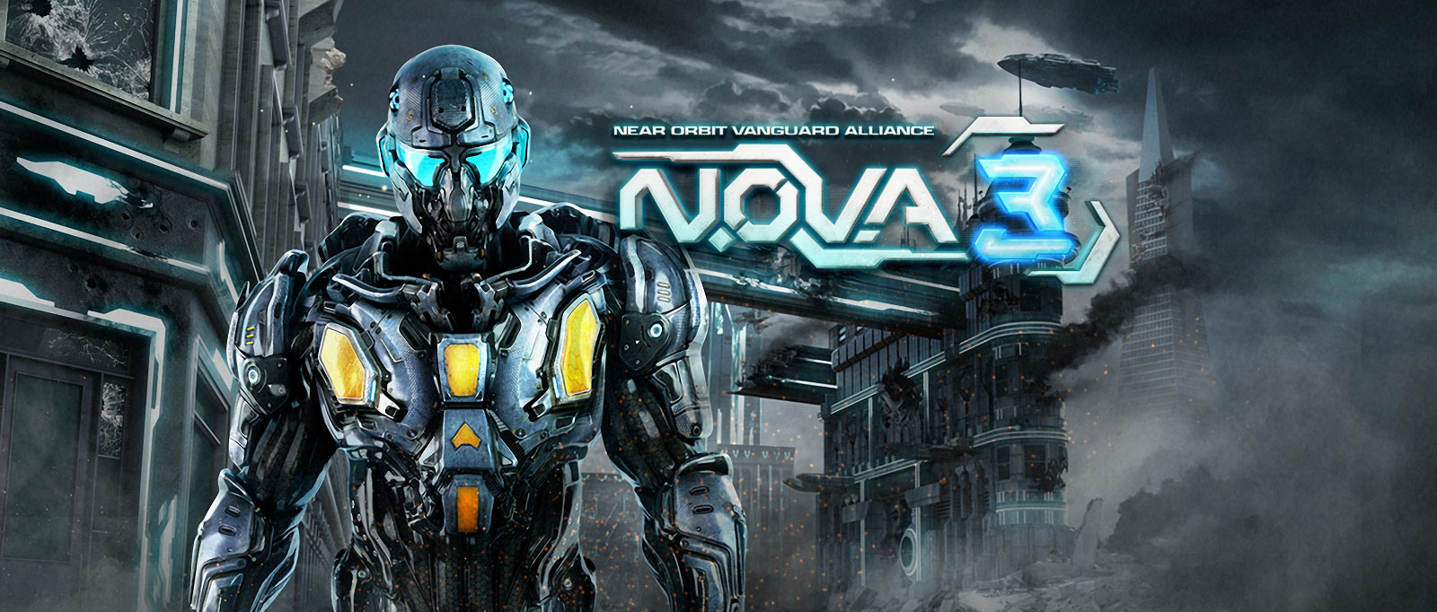 Gameloft | N O V A  3 - Near Orbit Vanguard Alliance