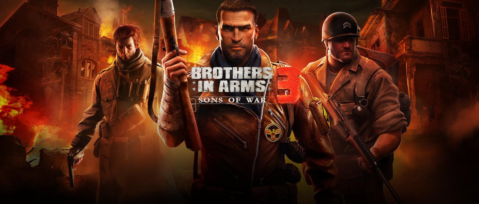 Gameloft | ブラザーインアームズ®3:Sons of War