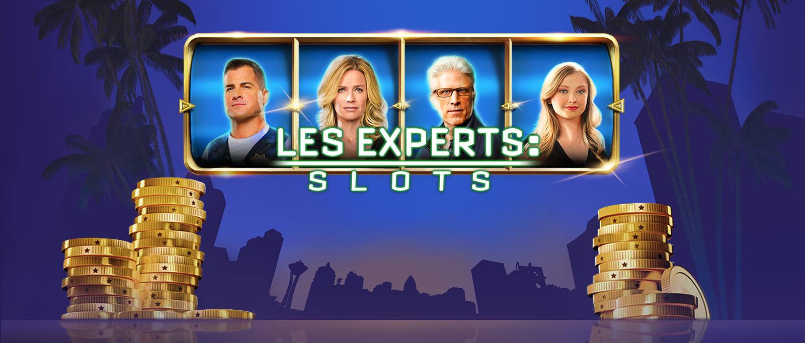 LES EXPERTS : Slots – JEU DE MACHINES À SOUS