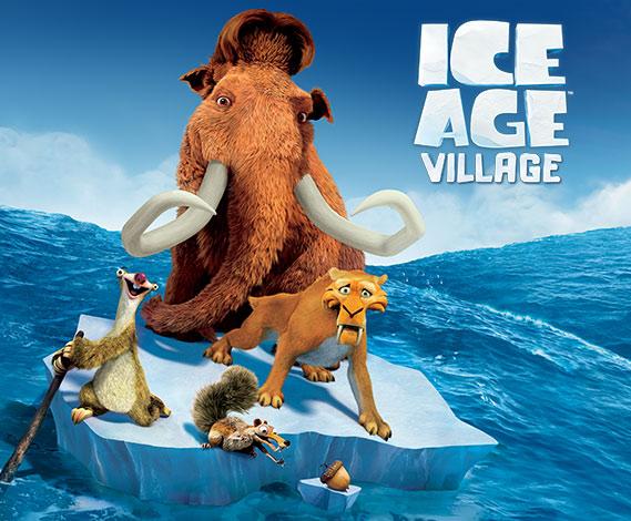 A Era do Gelo: Vilarejo