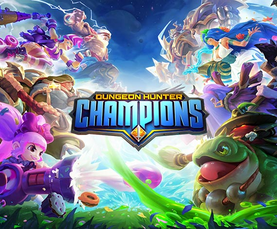 dungeon hunter champions game thumbnail