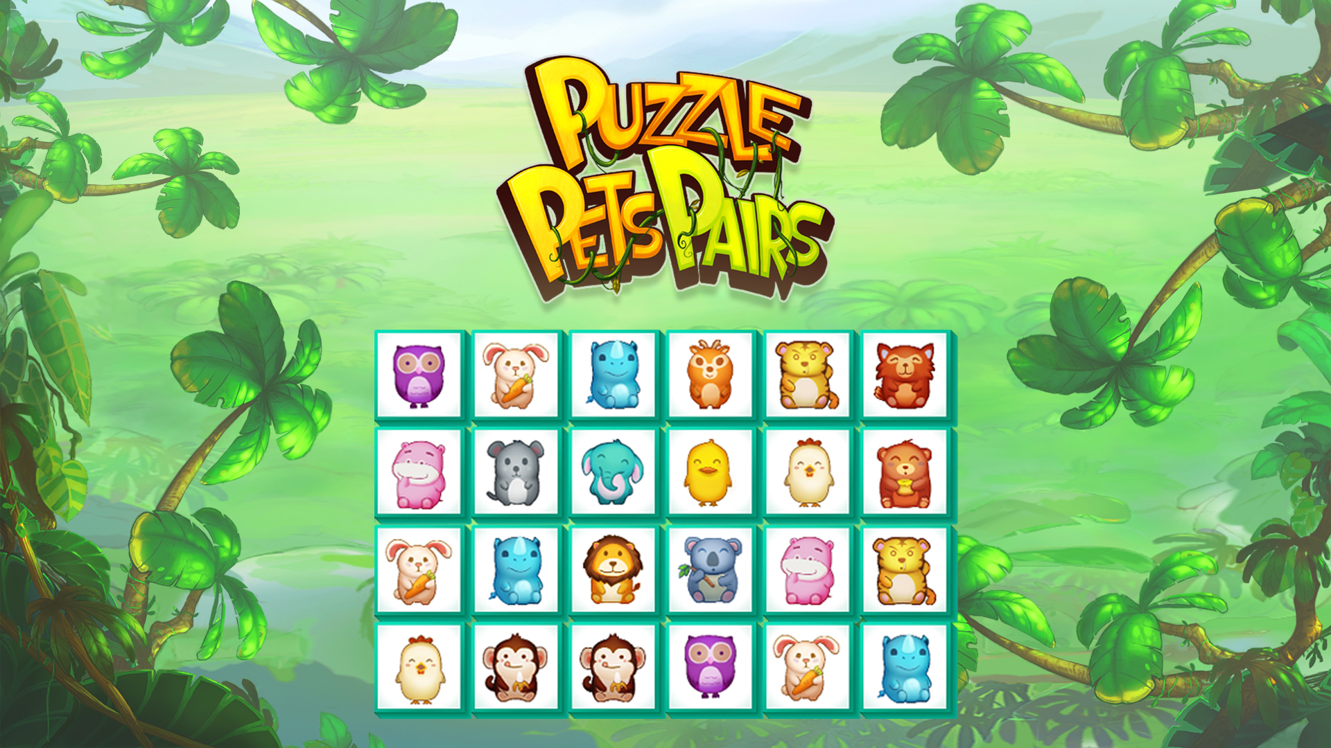Puzzle Pets Pairs